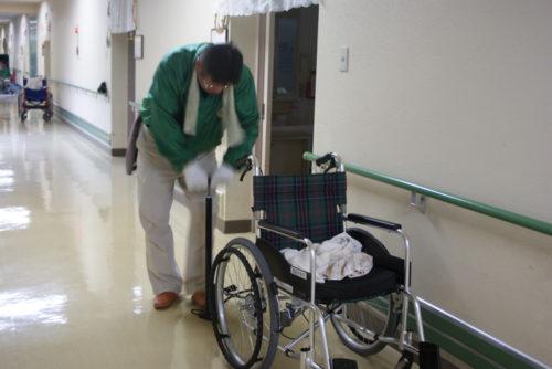 車椅子整備事業